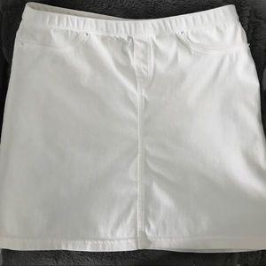 Hue White Skirt